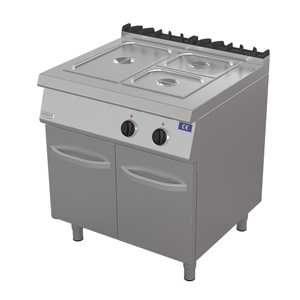 Bain marie electric cu dulap, 800x730mm