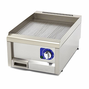 Fry top electric cu suprafata striata, 400x600x240mm