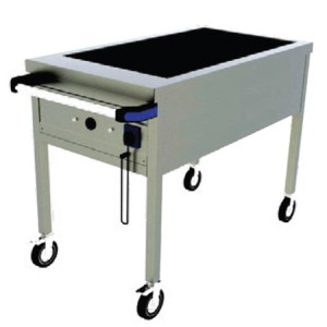 Bain-marie electric 4 x GN1/1, mobil